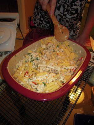 Pampered Chef - Grilled Chicken Penne al Fresco