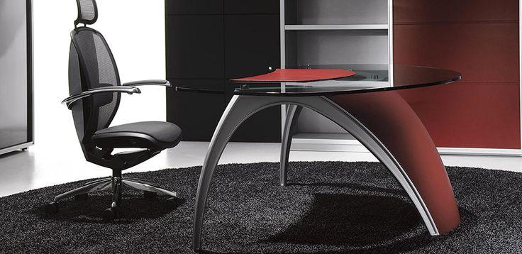 Mobilier Bureau Design Luna par Uffix, design Pininfarina