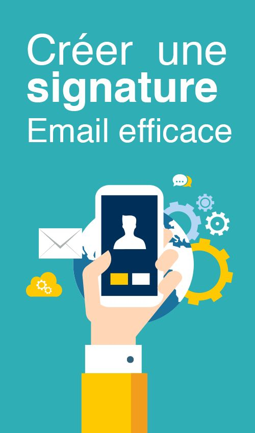 Créer une signature email efficace - Article du blog de www.resonancecommunication.com agence web à Carcassonne