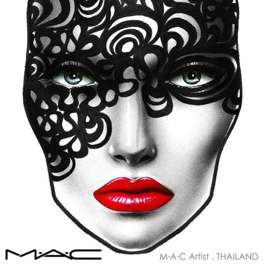 Creative makeup design