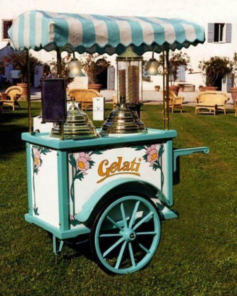 Italian Wedding Desserts: 24 Best Ice Cream Cart Images On Pinterest