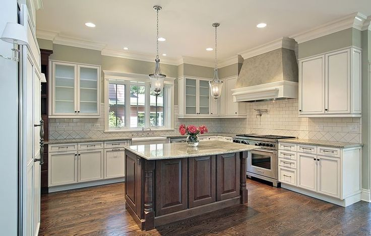 1000 ideas about two tone kitchen on pinterest light for Kitchen cabinets 2 tone