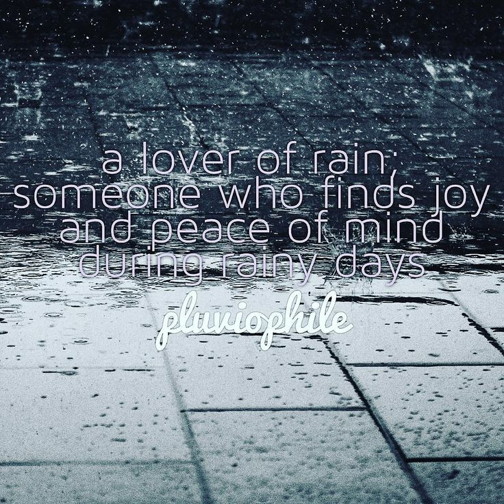 I've been a little down this weekend but when it finally rained I was so happy and excited! And now it's dark and quiet and calm and I can smell the rain in the air and perfect. I love the rain.  Who cares if it's not a 'real' word?   #pluviophile #rain #text #pretty #calm