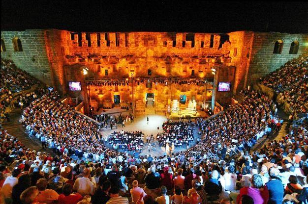 Legend of Aspendos in Antalya