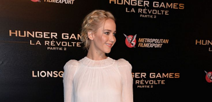 JENNIFER LAWRENCE, LOOK, RED CARPET, PREMIERE, HUNGER GAMES, 2015, MOCKINGJAY, DIOR, VESTIDO, BELEZA, MAKE, CABELI, TRANCA