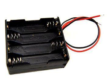 Boitier Support Coupleur 8 Piles AAA (9.6V 12V ou 12.8V)