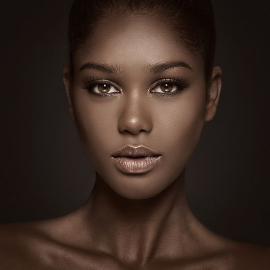 """Karina"" by Mike Paz -  #fstoppers #Beauty #Portrait #AmazingEyes #model #africanamericanwoman #gorgeous #beautifulface #Colombia #Beautymakeup"