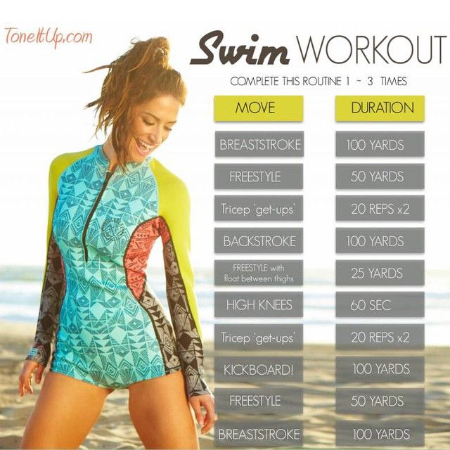 Double tap if you made a SPLASH this morning!This #TIUswimworkout tones you all over, strengthens your lung capacity & burns MAJOR calories! Find the complete workout in your Weekly Schedule on www.ToneItUp.com! @KarenaKatrina #TIUteam #ToneItUp #swim #workout