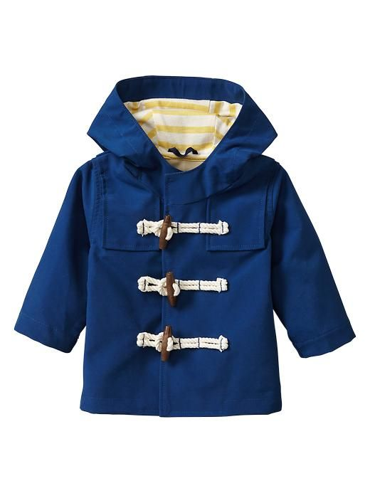 Paddington Bear™ for babyGap rain parka. i heart adorable raincoats.