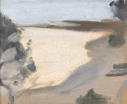 Silver Sea (Towards Rickett's Point) (circa 1930) - Clarice Beckett