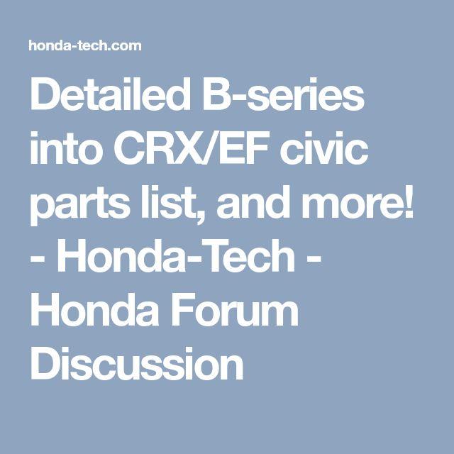 Mejores 15 imágenes de Honda CRX en Pinterest | Honda crx, Honda y ...