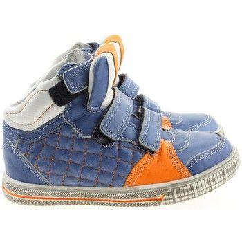 hippe Trackstyle jongens hoge schoenen jongens sneakers (Blauw)