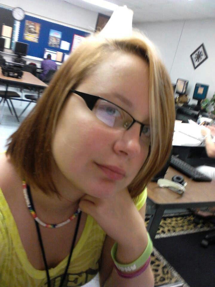 me in school