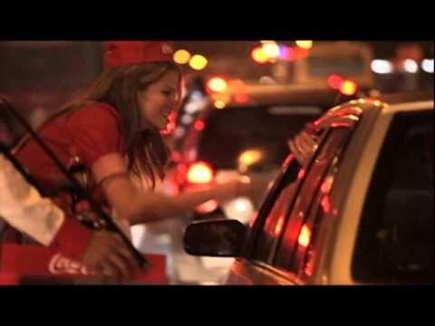 Coca Cola + traffic in Bogota = marketing success