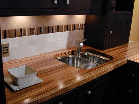 15 best images about trending square edge for countertops for Custom made kitchen countertops