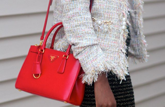 Accessorize | Prada Saffiano Tote on Pinterest | Prada, Prada Bag ...
