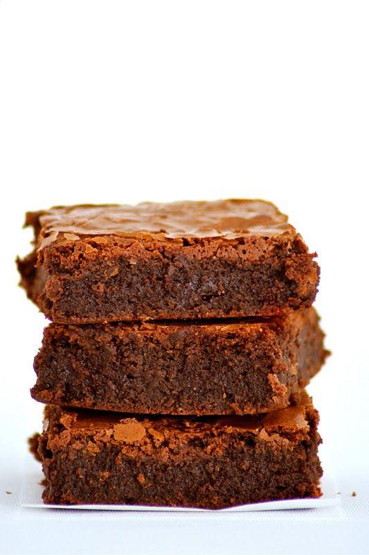 Chocolate brownie de Alice Medrich: Classic Brownies, Meatloaf, Mejor Brownies, Brownies Foodandcook Net, Classic Chocolates, Brownies Clásico, Chocolates Brownies, Brownies De, Brownies Spanish