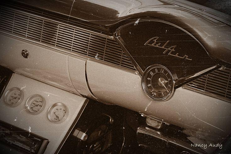 Carte de souhaits avec photo - fini glacé sur carton souple - Toutes occasions - Sans texte - Chevrolet Bel Air de la boutique 1Trefle3BrinsDHerbe sur Etsy
