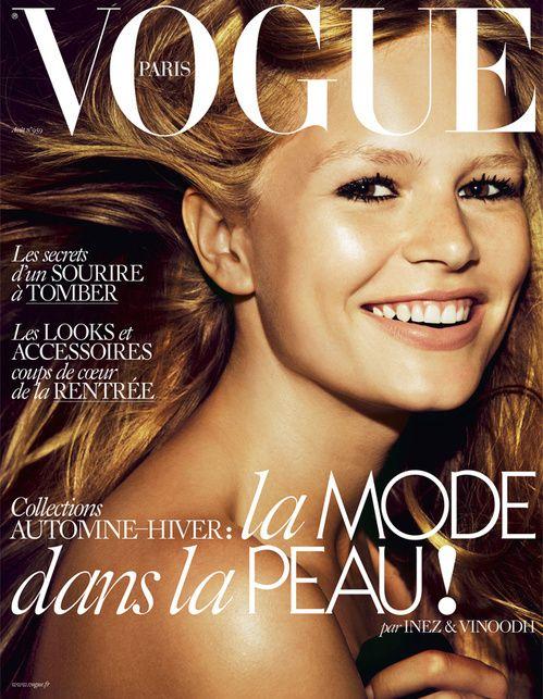 Le numéro d'août 2015 de Vogue Paris couverture Anna Ewers Inez & Vinoodh spécial été http://www.vogue.fr/mode/news-mode/articles/le-numro-daot-2015-de-vogue-paris/26878
