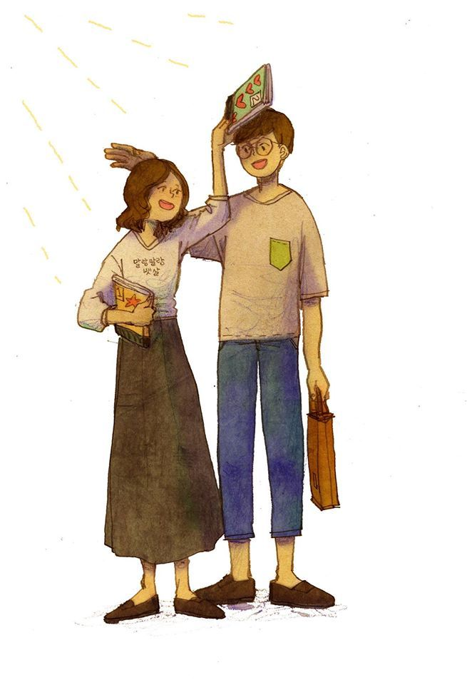 """These Beautiful Pictures Explain What Love Is ..   By Korean artist """"Puuung"""""""