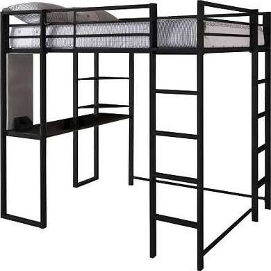 1000 ideas about loft bed frame on pinterest build a. Black Bedroom Furniture Sets. Home Design Ideas
