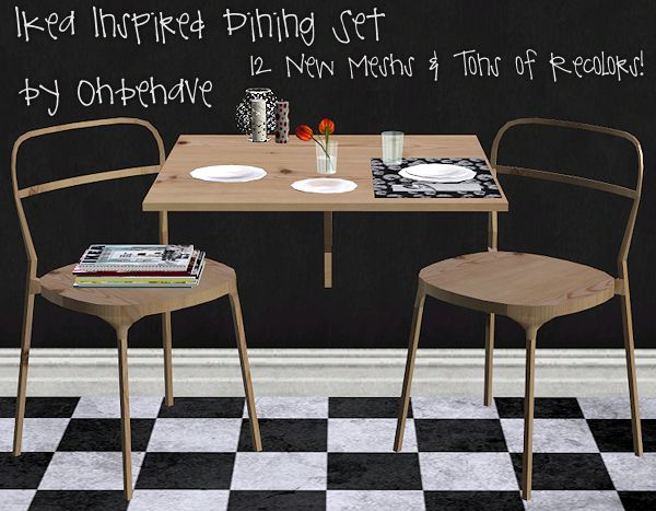 Ikea Inspired Dining Set