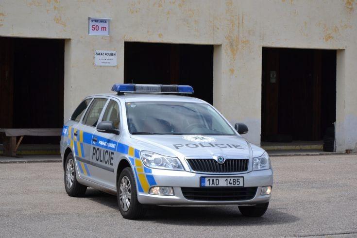 Škoda Octavia II facelift 1.8 TSI Policie Česke republiky PČR (Czech Republic police)  14.07.2011