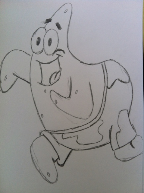Patrick from Spongebob By Dan