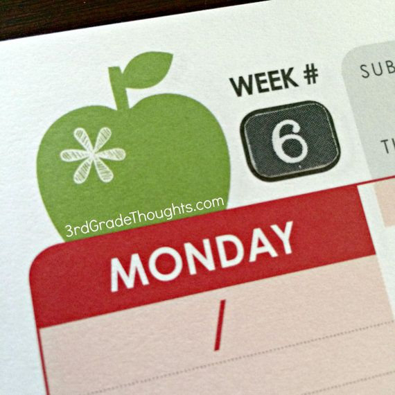 Erin Condren Teacher Planner Stickers & Setup