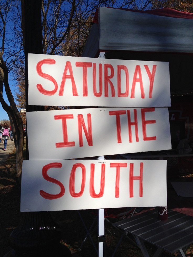 #SEC #IronBowl #SouthernHospitality