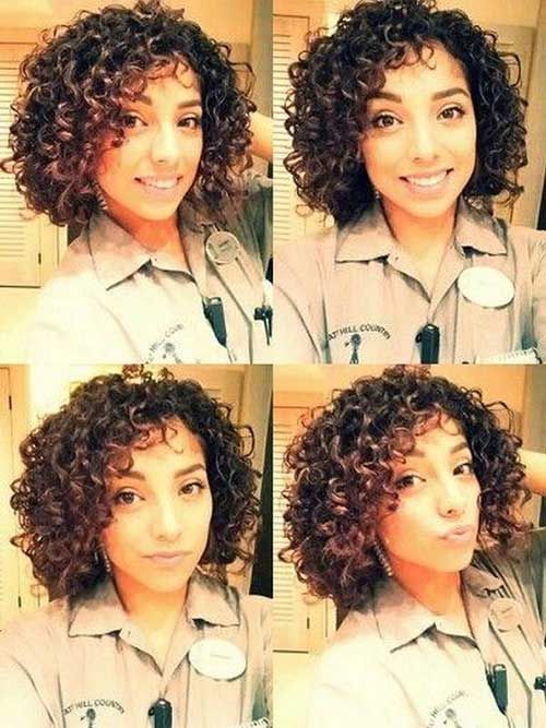 Short Natural Curly Hair for Girls