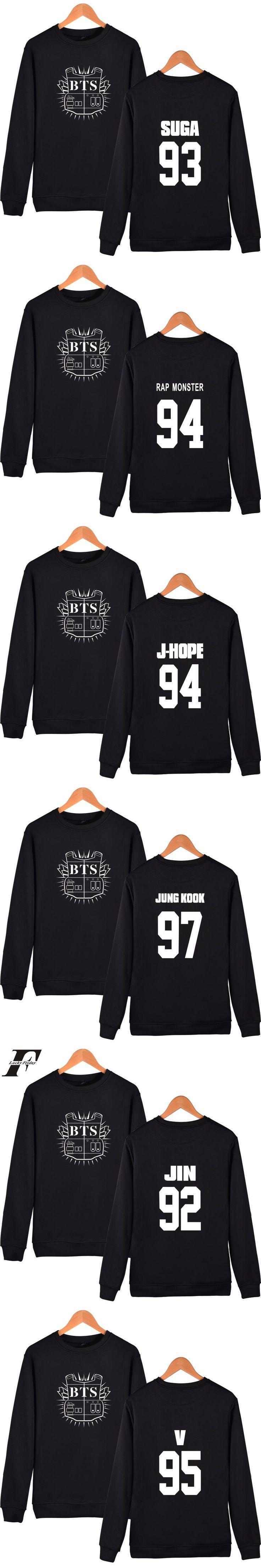 LUCKYFRIDAYF Kpop BTS Capless Sweatshirt men Korean Bangtan Boys Winter men Hoodies Sweatshirts Streetwear Hip Hop Clothes