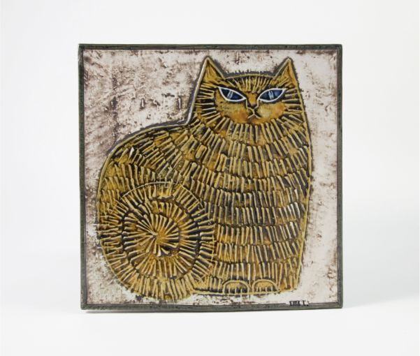 UNIK Cat Standing   Ceramic   SHOP   LISA LARSON