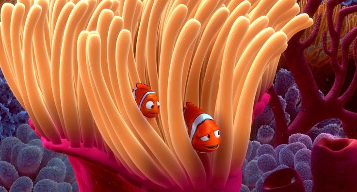 Plongez pour la première fois en 3D ! Le Monde de Nemo au cinéma le 16 janvier 2013 ! #NEMO