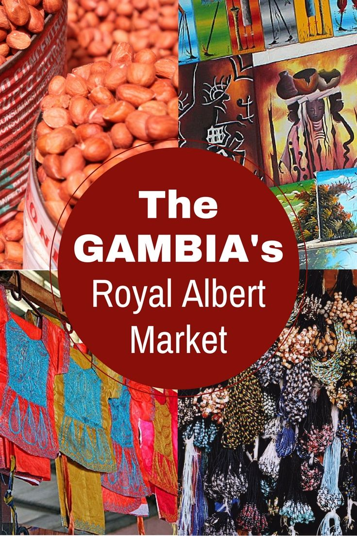 Exploring Banjul's colourful and chaotic Royal Albert Market, The Gambia, West Africa