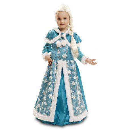 Disfraz de Reina del Hielo para Niñas #Princesa #Frozen #Infantil