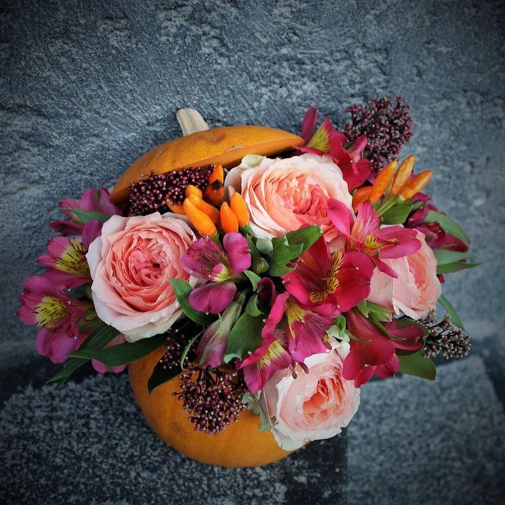 #floral #pumpkin #madewithjoy #paulamoldovan #livadacuvisini #halloween #mood #boohoohoo #fun #flowers #reasontosmile