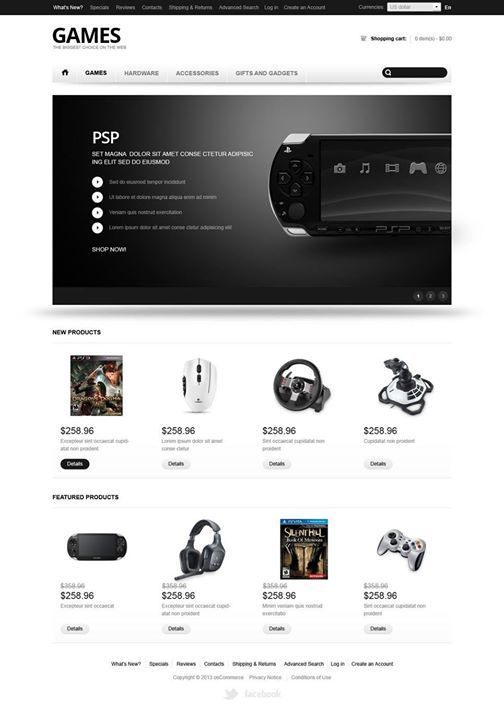 The 42 best Gaming Web Templates images on Pinterest Website - video game template