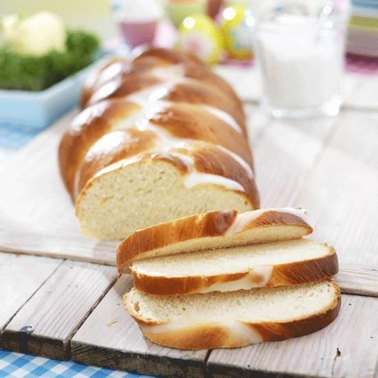 Zoete Paasbrood vlecht recept | Dr. Oetker