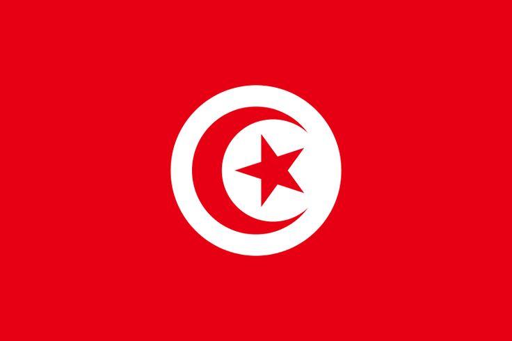 Ficheiro:Flag of Tunisia.svg