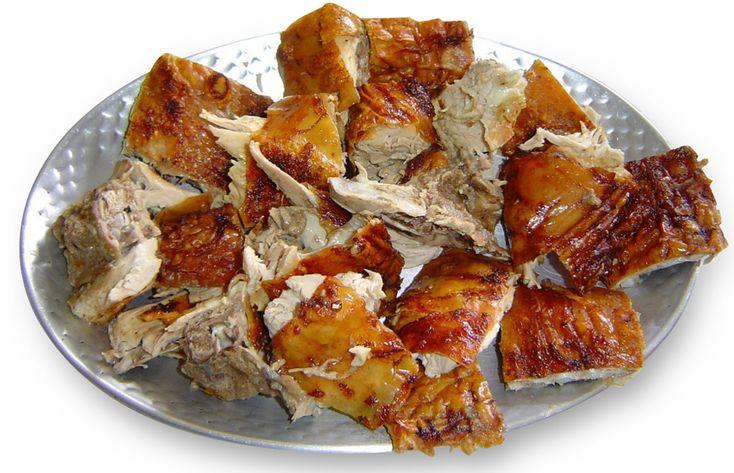 Leitão à Bairrada, Portugal  /Piglet roast specialty area  Bairrada