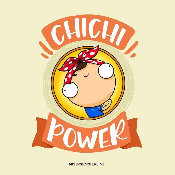 """chichi power - missborderline (@missborderlineshop) en Instagram: """"#173 Chichi power!!"""""""