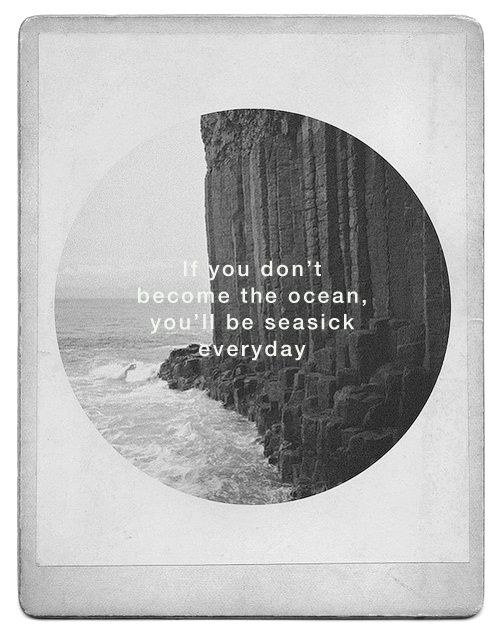 If you don't become the ocean..Leonardcohen, The Ocean, True Love, True Words, Leonard Cohen Quotes, Feelings Quotes, Seasick Everyday, Living, Inspiration Quotes