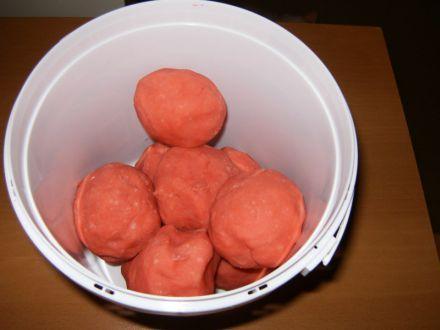 Pink Raspberry Play-dough: Playdough Clay Gook Goop, Playdough Recipes, Sensory, Myo Playdough, Playdough Center, Preschool Art Playdough Clay, People Playdough, Art Playdough Clay Recipes, Playdough Fun