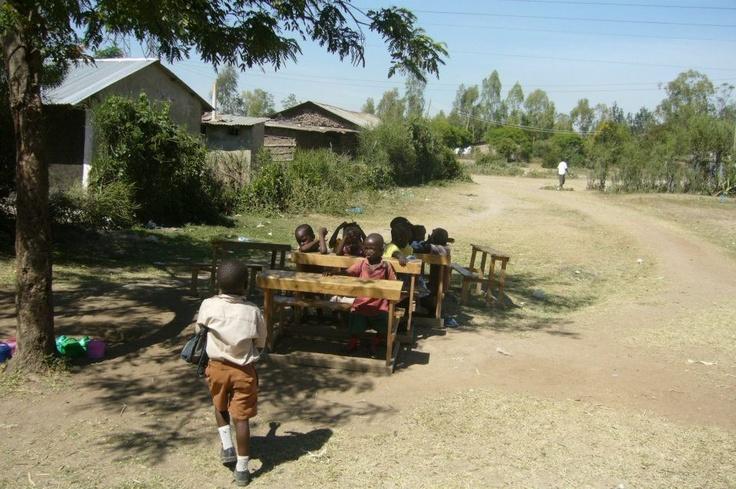 Work of the Migosi Family Hope Society in a village in Kisumu, Lake Victoria, Western Kenya