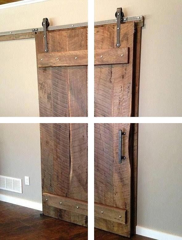 Hanging Barn Doors Large Barn Doors For Sale Interior Closet Barn Doors In 2020 Room Divider Doors Sliding Doors Interior Small Bathroom Decor
