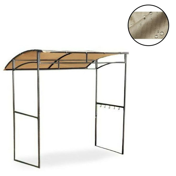 Gazebo Replacement Canopy Patio Outdoor Garden Cover Yard Sunshade Curved #Unbranded