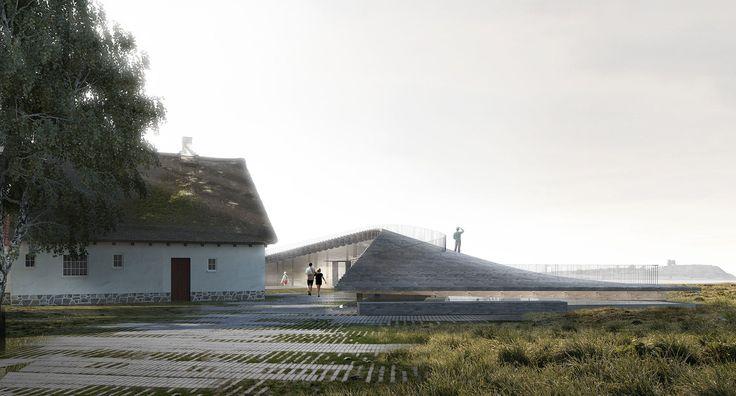 Galería de Arkitema Architects diseña un Centro de Visitantes para el Parque Nacional Mols Bjerge en Dinamarca - 1