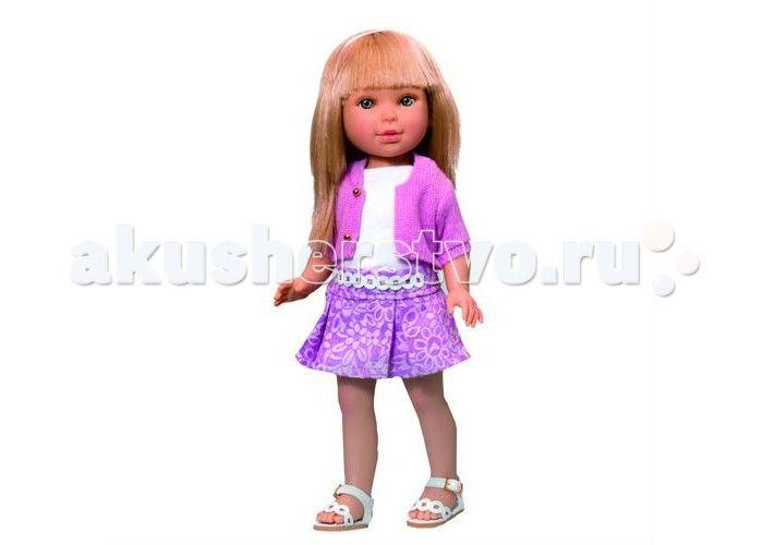 Vestida de Azul Паулина блондинка с челкой Лето Городской Шик  Vestida de Azul Паулина блондинка с челкой Лето Городской Шик - эта милая блондинка восхищает с первого взгляда своим милым и реалистичным личиком, красиво уложенной стрижкой с челкой, а также весенним образом в стиле городской шик.  Особенности: Миловидная блондинка Паулина в модном наряде: светлый верх, розовая юбка с узором, жакет с рукавом три четверти и босоножки. Стильный летний образ в стиле городской шик поможет…