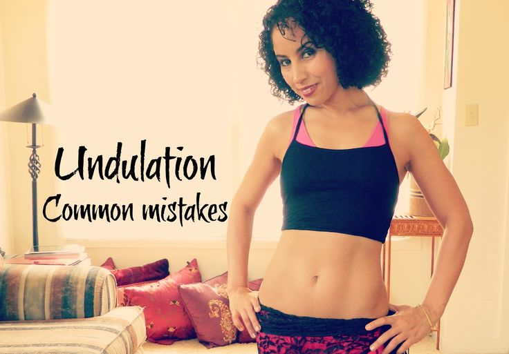 Upper body undulation: the most common mistakes ~ Free belly dance classes online with Tiazza Rose